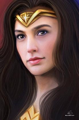 Wonder Woman Large Print