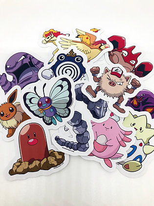 Pokemon Sticker Pack - Series 4