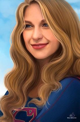 Supergirl Large Print