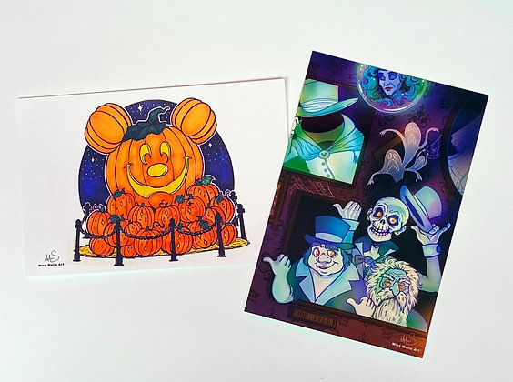 Halloween at Disney Art Set