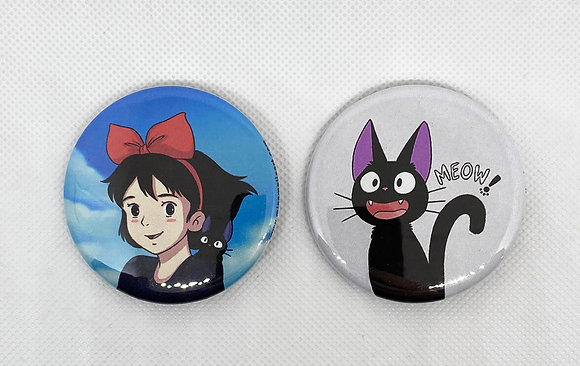 Kiki's Delivery Button Pack