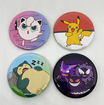 Pokemon Button Pack