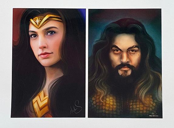 DC Heroes Art Set