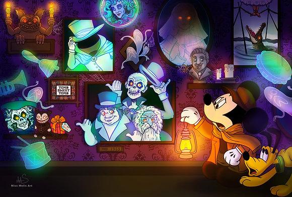Haunted Mansion Large Print