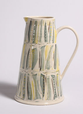 Textile pattern jug