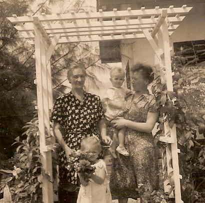 Betta met moeder en kinderen