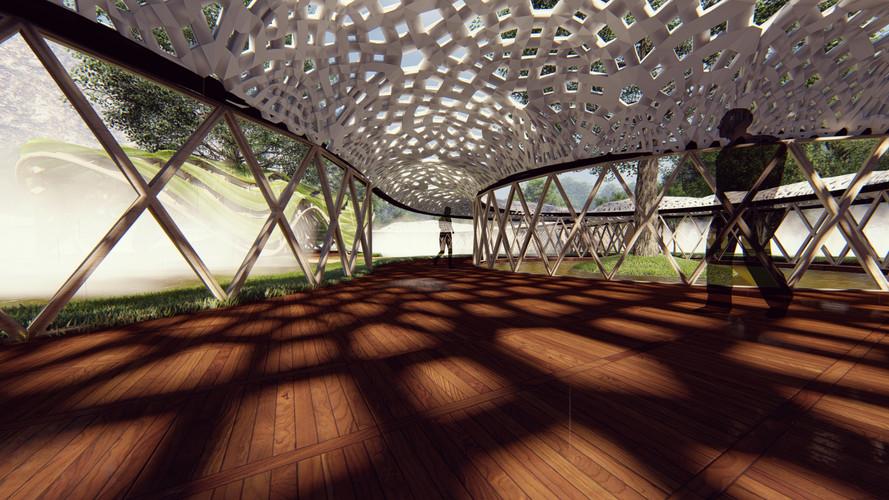 The Eternal Mangekyo Pavilion - The Three Phase Pavillion