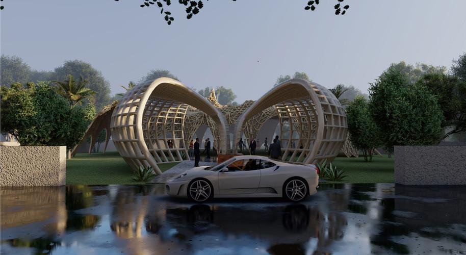 Community Pavilion - Entrance Pavillion