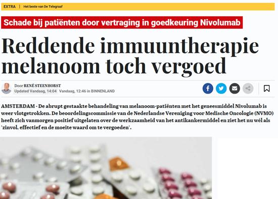 Beeld: Telegraaf 29-11-2018