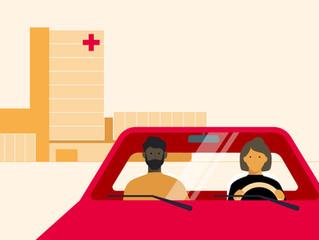 Hoe ervaar jij het taxivervoer naar het ziekenhuis?