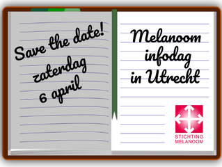 Save the date & poll: Melanoom infodag 2019