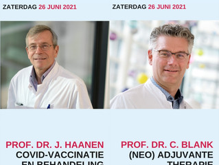 Webinar huidmelanoom op zaterdag 26 juni 2021 is open voor inschrijving.