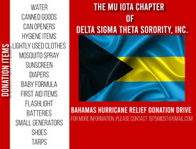 Bahamas Hurricane Relief Donation Drive