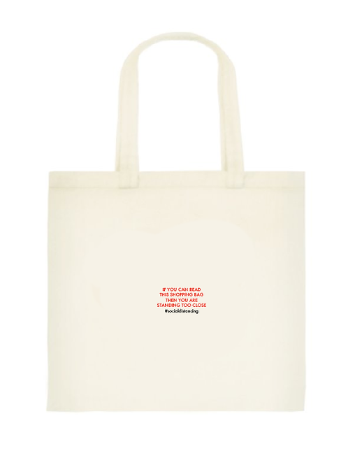 Standing too close Tote Bag: Standard