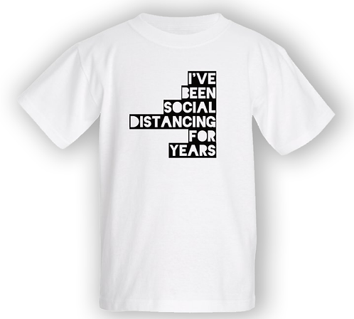 Distancing for Years T-shirt - Kids