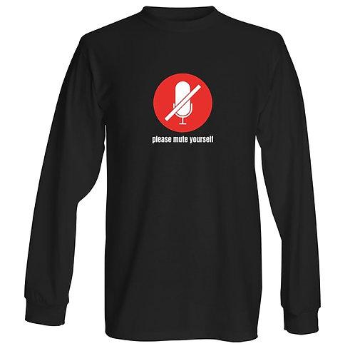 Mute yourself Long sleeve - Unisex