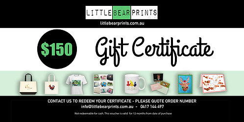 Gift Certificate - $150