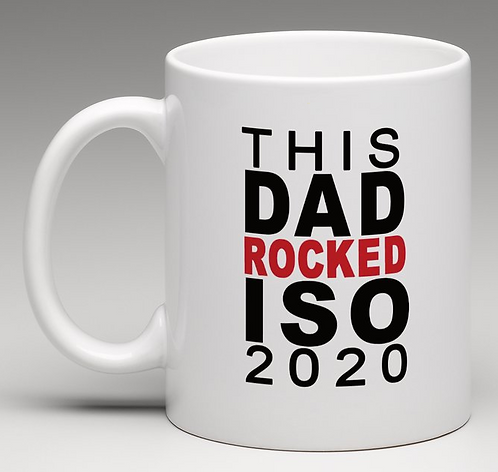 This Dad Rocked ISO 2020 coffee mug