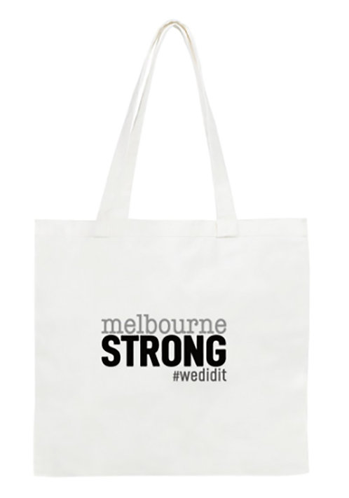 Melbourne Strong Tote Bag: Standard