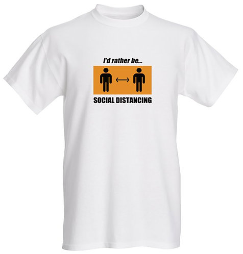 Rather be Social Distancing T-shirt - Kids