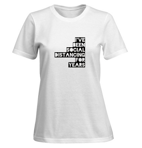 Distancing for years T-shirt - Women