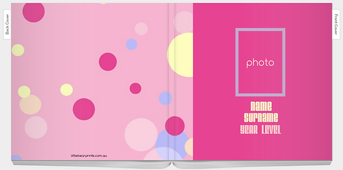 Art Journey Book - Cotton Candy Theme