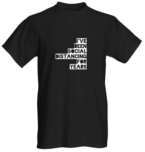 Distancing for years T-shirt - Unisex