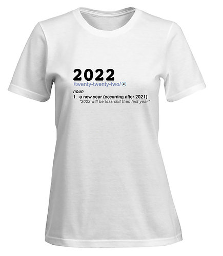 2022: Noun T-shirt -Women