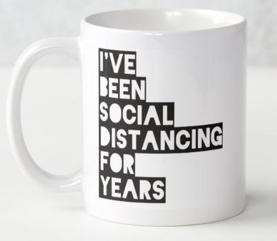 Social Distancing for Years Coffee Mugs