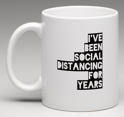 Social Distancing for Years Coffee Mugs