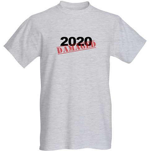 2020 DAMAGED T-shirt - Unisex