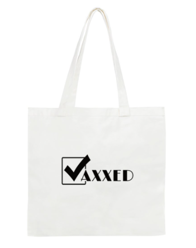 Tick: Vaxxed Tote Bag: Standard