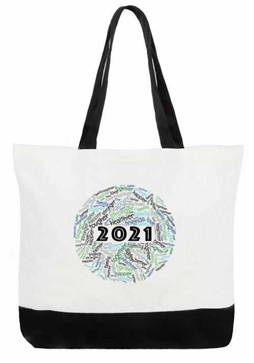 2021 Tote Bag:  2-Tone