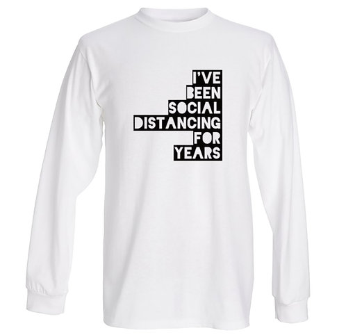 Distancing for years Long Sleeve - Unisex