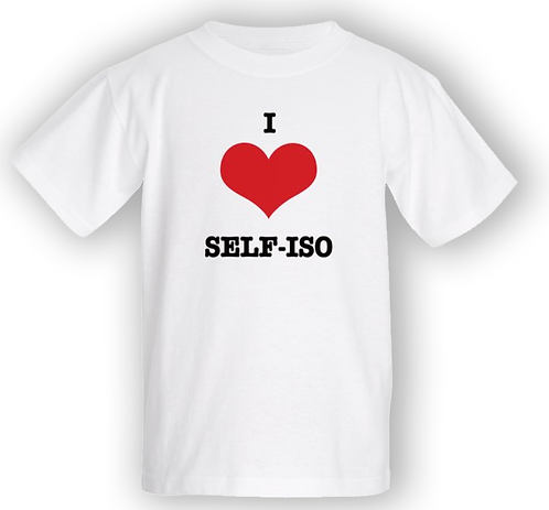 I love self-iso T-shirt - Kids
