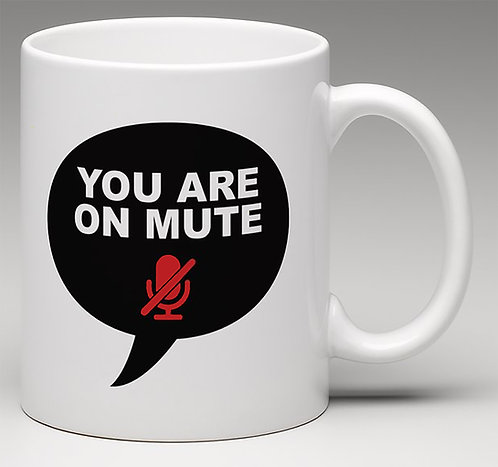 You are on mute Coffee Mugs