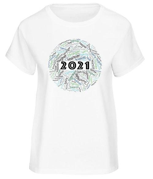 2021 T-shirt -Women