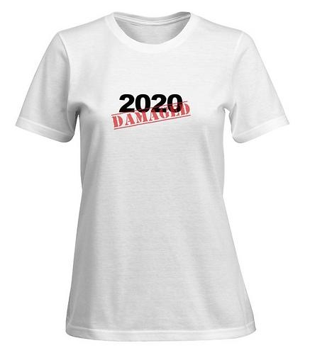2020 DAMAGED T-shirt - Women