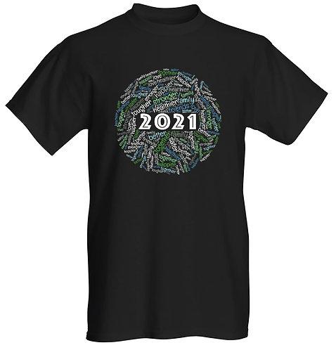 2021 T-shirt - Unisex