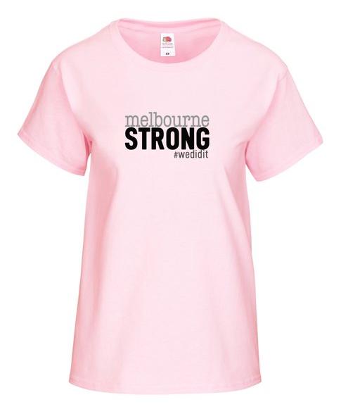 Melbourne Strong T-shirt - Women