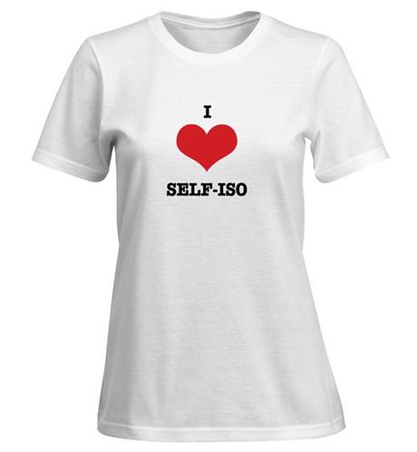 I love self-iso T-shirt - Women