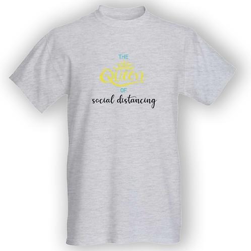 Queen of Social Distancing T-shirt - Unisex