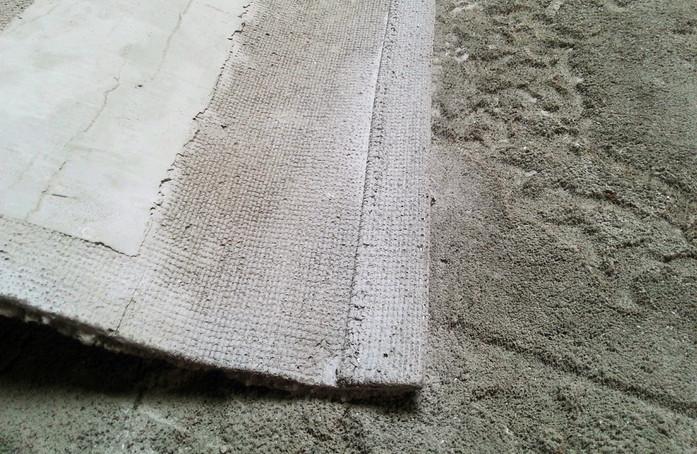 Irrational loop of dust