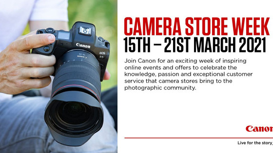 Canon Camera Store Week
