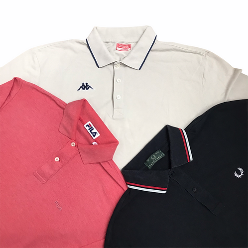 5Kg Kappa, Fila and Fred Perry Polo shirt