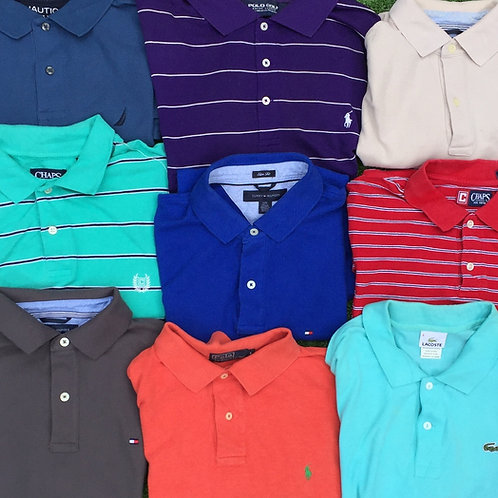Branded polo shirt mix