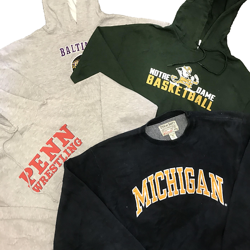 Usa college/sport print hoodies