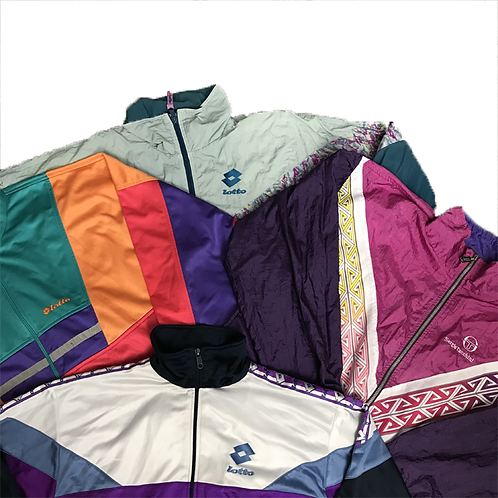 Branded Crazy Print Jackets