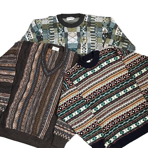 Vintage Cosby Style Sweaters