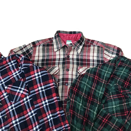 Flannel Jackets Mix